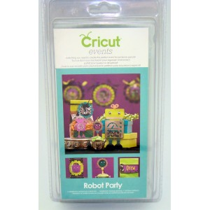Cricut Events Cartridge Robot Party Item 2001075